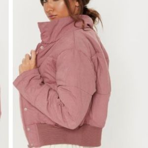 PrettyLittleThing Jackets & Coats - Pretty Little Thing Cropped Puffer Jacket